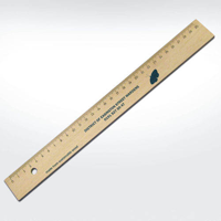 30cm Wooden Rulers  - sustainable