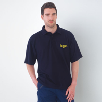 H156 Ultimate Clothing Collection 50/50 Pique Polo