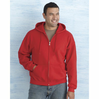H162 Gildan Heavy Blend Full Zip Hooded Sweatshirt