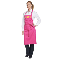 G173 Dennys Multi-Coloured Bib Apron