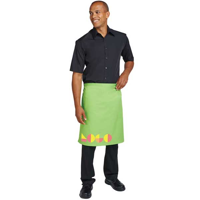 G173 Dennys Multi-Coloured Waist Apron