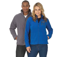 H163 Russell Full Zip Outdoor Fleece