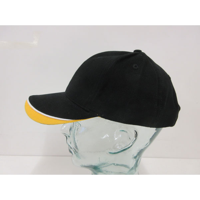 H153 Brushed Heavy Cotton 6 Panel Baseball Cap