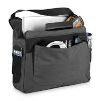F085 Zoom Power Stretch Laptop Messenger Bag
