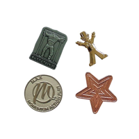 G075 20mm Metal Relief Badge