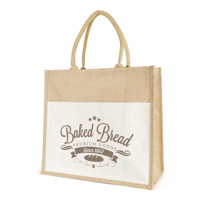F100 Large Laminated Jute Shopper