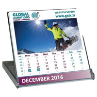 H018 Mini Case Desk Calendar