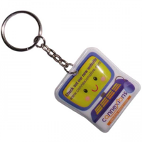 G101 Shaped PVC Key Ring Torch