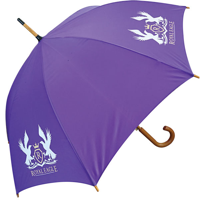 F148 Classic Wood Crook Umbrella