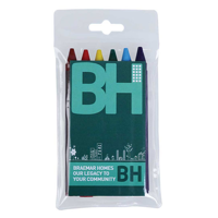 H034 Pack of 6 Crayons