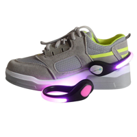F138 LED Light Up Shoe Clips