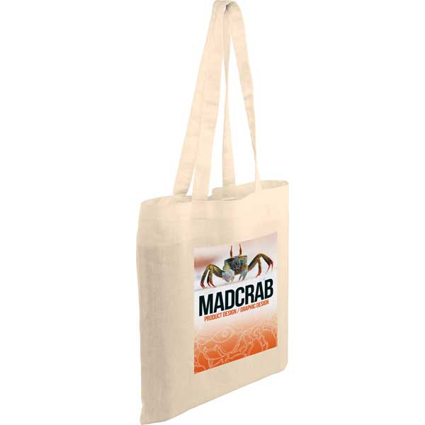 F099 Kingsbridge Full Colour 5oz Cotton Tote Bag