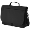 Pittsburgh conference bag in black-solid