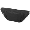 Santander waist pouch in black-solid