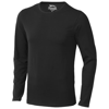 Curve long sleeve T-shirt in black-solid