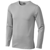 Curve long sleeve T-shirt in grey