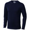 Curve long sleeve T-shirt in navy
