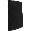 Golf Pro Towel Stitched in black