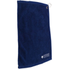 Golf Pro Towel Stitched in blue