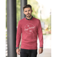 H170 Russell Collection Knitted Crew Neck