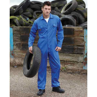 H169 Dickies Redhawk Economy Stud Front Coverall