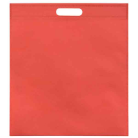 H100 Non Woven Polyprop Shopper with Cut Out Handles - Full Colour