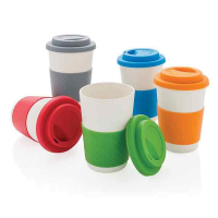 H003 ECO Bamboo Fibre Demi Coffee Cup