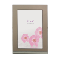G146 6 x 4Inch Polished Stainless Steel Photo Frame