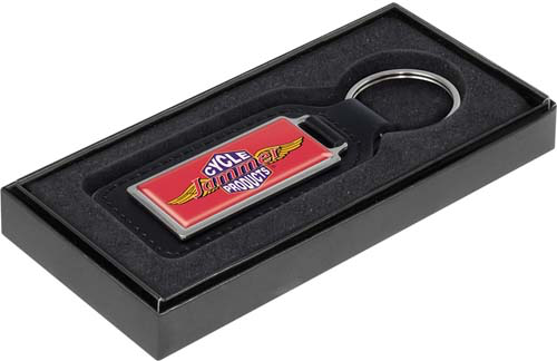 Emperor Rectangular Keyring with box