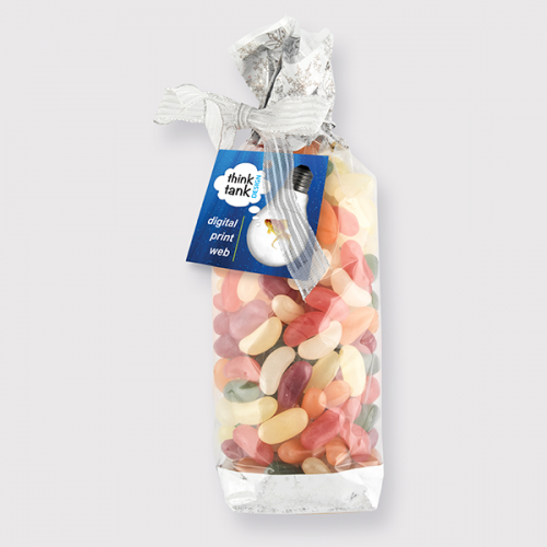 Luxury Bag With Bow Jelly Beans 350 Grams